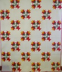 North Carolina Lily Antique Quilt- Mint