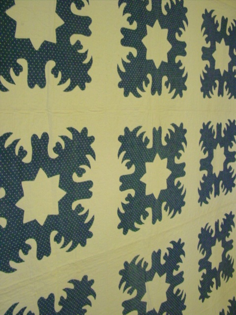 blue and white snowflake quilt rennels antique quilts 87977