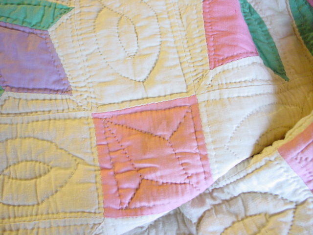 nicely quilted- unused and never washed