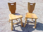 A Brandt Ranch Oak- Set of 4 Chairs-  SOLD