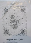 Angel Child - Quilt Pattern- Applique and Embroidery