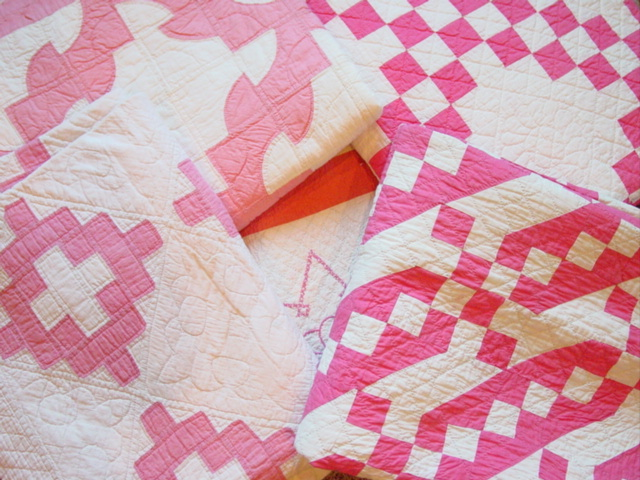 this is one of the quilts in the Pink Exhibit 2013!