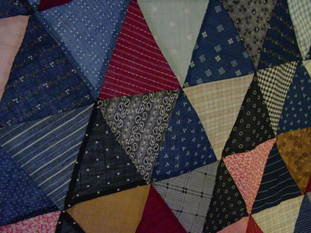 Pyramids Triangles Quilt Top Sold Cindy Rennels