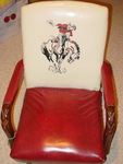 1950's Cowboy Child's Rocking Chair
