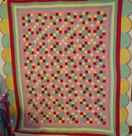 Sixteen Block Quilt with Unusual Border   $495.00