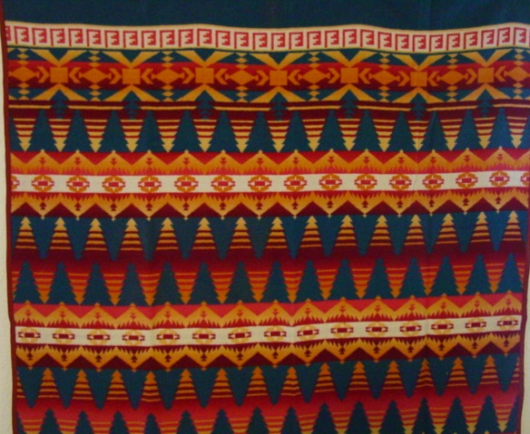 closer view of the pattern