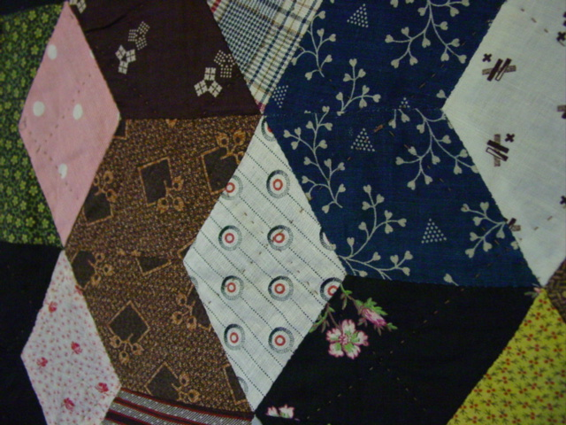 close up of some fabrics