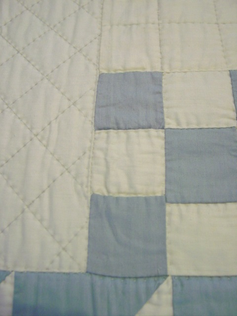 another view shows quilting and color