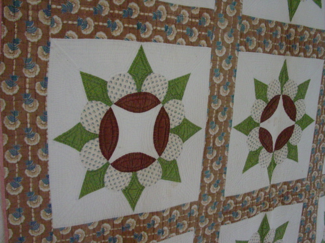 exquisite early quilt that displays well