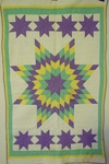 Stars Wall Quilt with Border  - Sold