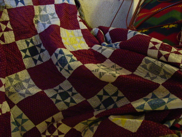 a very usable quilt that displays well