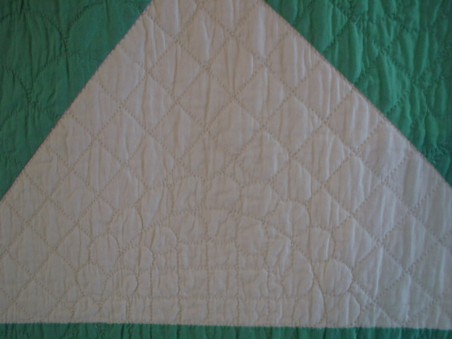 nice quilting pattern-- love the quality of quilting