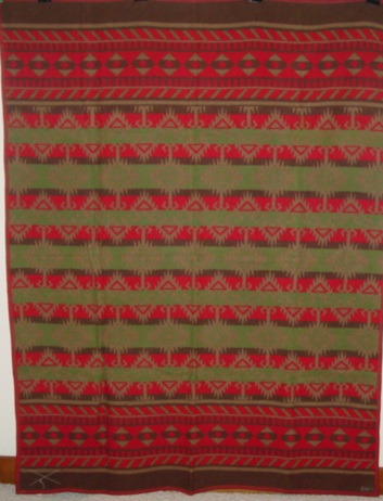 full view of Beacon Indian Wigwam Blanket