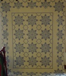 Snowflake Vintage Quilt - SOLD