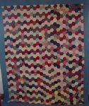 One Patch Hexagons Quilt  $665.00