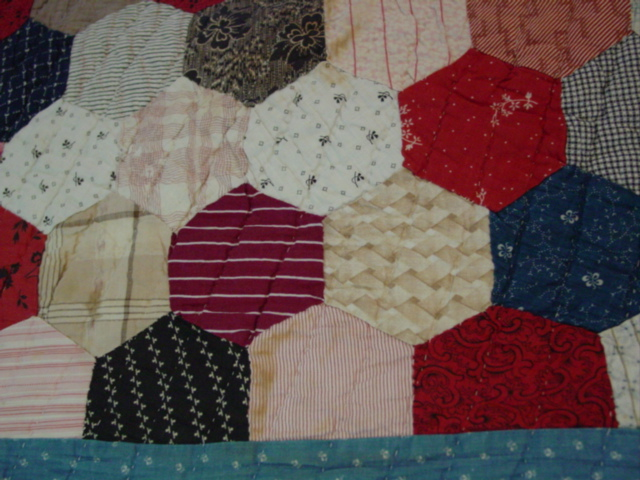 showing some of the fabrics