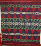 Beacon Indian Camp Blanket - Red-Blue-Green  SOLD