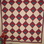 Fruit Baskets Quilt with Sawtooth Border