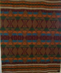 Oregon City Indian Trade Blanket with Label