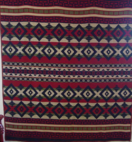 full view of Beacon Indian Camp Blanket