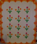 Tulip Garden Quilt With Border