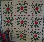Whig Rose Applique Quilt