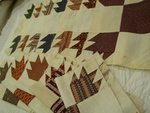Antique Turkey Tracks Quilt Blocks- (12 blocks)