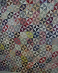 Pinwheels and Triangles Quilt Top   SOLD