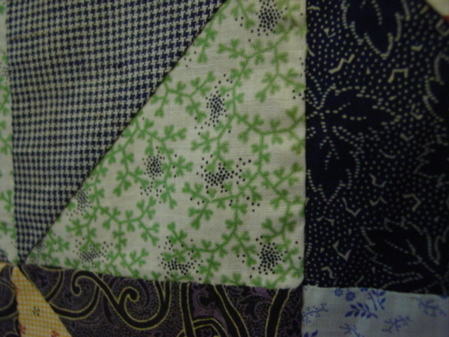 close up of some of the fabrics