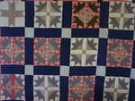 Duck Paddle Quilt with Provenance