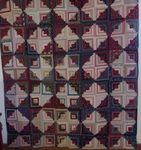 Courthouse Steps Log Cabin Quilt SALE $965.00 BUY NOW