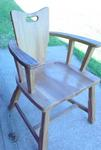 A Brandt Ranch Oak Arm Chair- 2 available-  SOLD
